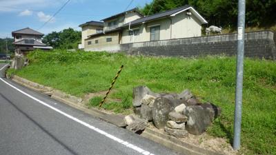 【外観】神辺町湯野 売土地