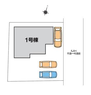 【区画図】LiveleGarden.S 第11高崎金古 1号棟
