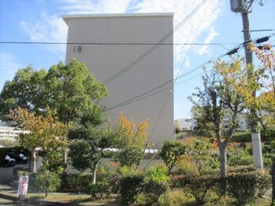 【外観】名谷4団地18号棟