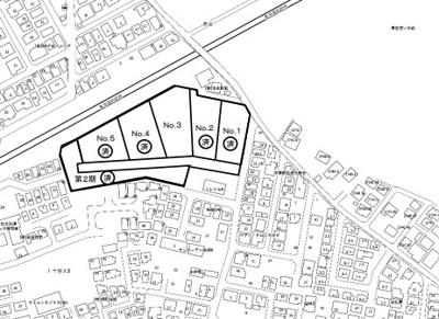 【区画図】綾瀬市上土棚北3丁目 準工業地域 売地