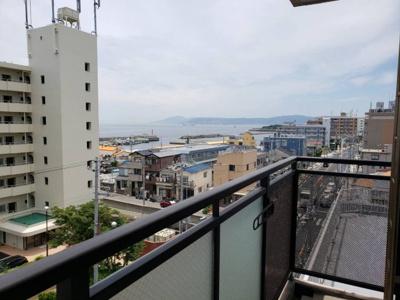 南向きで海が見えます☆神戸市垂水区 塩屋 賃貸☆