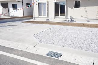 駐車場も整備されていますので、駐車もラクラクです。