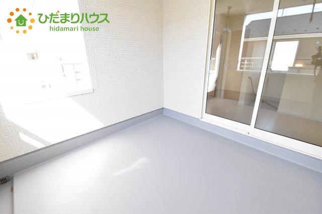 【バルコニー】行田市佐間 第5 新築一戸建て リーブルガーデン 03