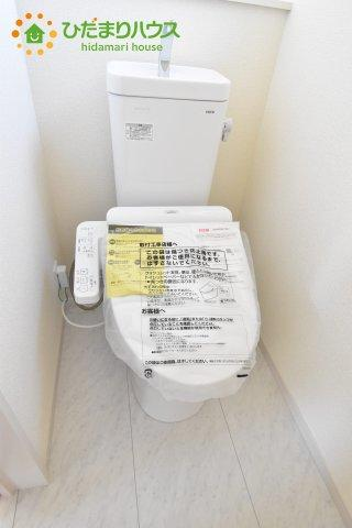 【トイレ】行田市佐間 第5 新築一戸建て リーブルガーデン 03