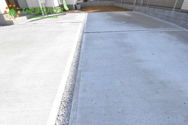 【駐車場】行田市佐間 第5 新築一戸建て リーブルガーデン 03