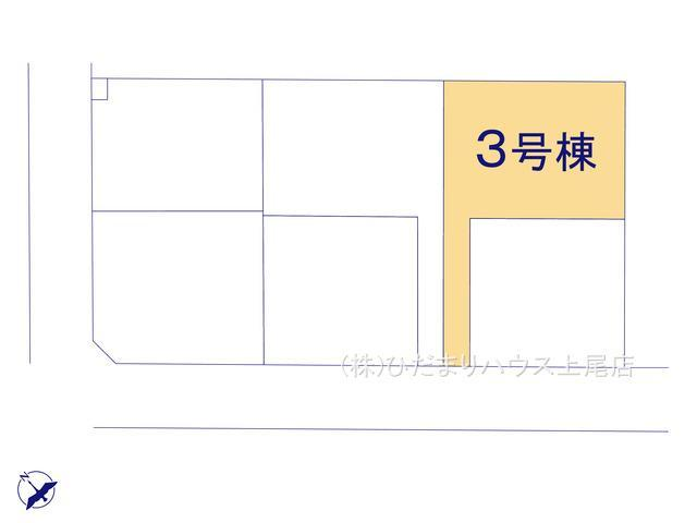 【区画図】行田市佐間 第5 新築一戸建て リーブルガーデン 03