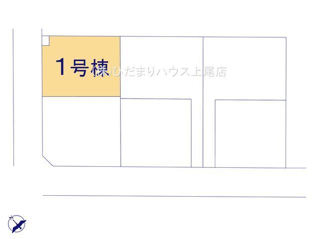 【区画図】行田市佐間 第5 新築一戸建て リーブルガーデン 01