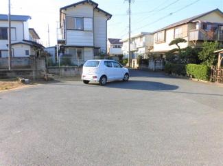 千葉市若葉区都賀 土地 前面道路が広いので駐車もらくらく安心ですね♪