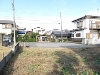 千葉市若葉区都賀 土地 居住エリアへ入ると、先が行き止まりのため安心できる環境。