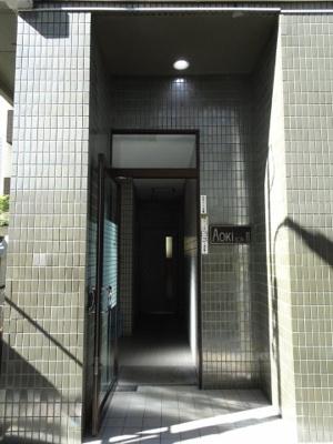 AokiビルⅡ 1階共用エントランス