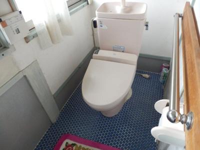 【トイレ】鴨野古民家