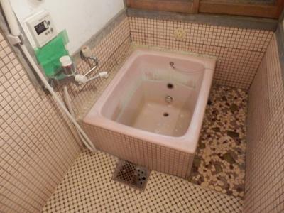 【浴室】鴨野古民家