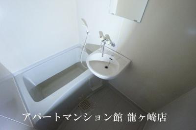 【浴室】サンラフォーレ佐貫