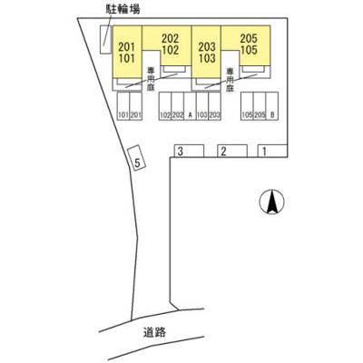 【区画図】トゥインクルくつろぎ