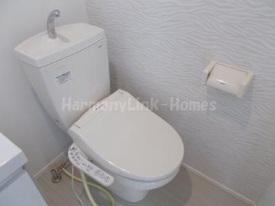 stage上石神井の落ち着いた色調のトイレです☆