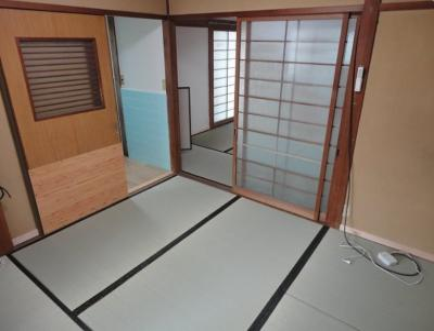 【寝室】大江島戸建て
