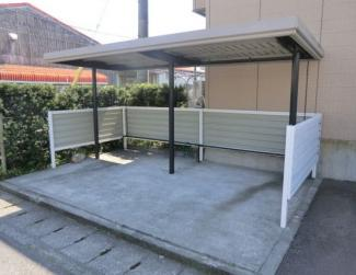 【駐輪場】焼津市惣右衛門2棟一括売アパート