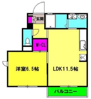 【間取り】焼津市惣右衛門2棟一括売アパート