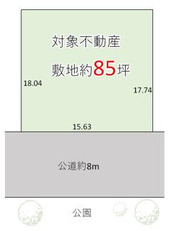 【土地図】神戸市須磨区北落合5丁目 売土地