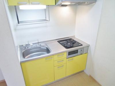 【キッチン】クレセントコートA棟