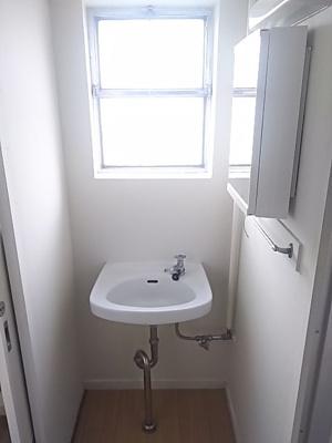 【洗面所】ビレッジハウス五個荘