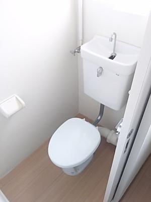 【トイレ】ビレッジハウス五個荘