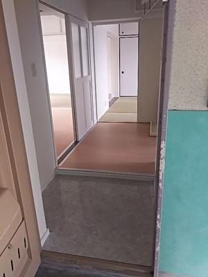 【玄関】ビレッジハウス五個荘