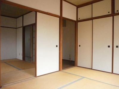 【居間・リビング】サンハイツ桜ヶ丘