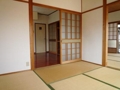 【居間・リビング】第一下鶴コーポ