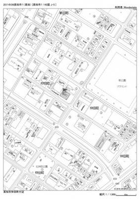 【地図】仲田町月極駐車場