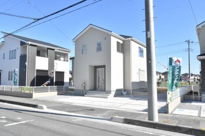 【外観】鴻巣市赤城(広田中央区画整理地内)新築戸建 全3棟
