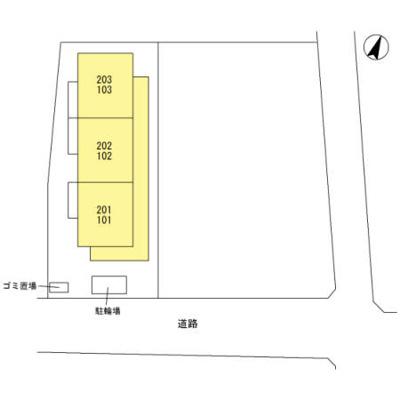 【区画図】ブランヴェニール
