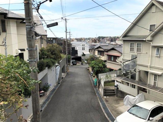 【前面道路含む現地写真】桜町 売土地