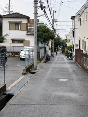 【前面道路含む現地写真】田中町4丁目 1号地 売土地