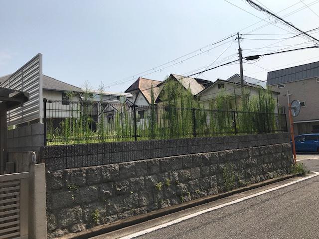 【前面道路含む現地写真】打出小槌町Ⅱ 3号地