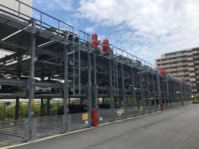 【駐車場】プレサンスロジェ 神戸ポートアイランド