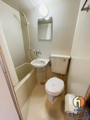 【浴室】投資物件)サンハイツヨコオ1