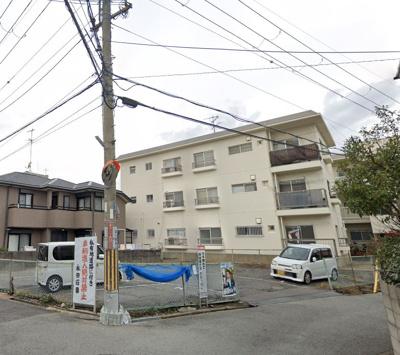 【外観】百楽マンション駐車場