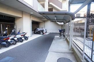 【駐輪場&バイク置き場】