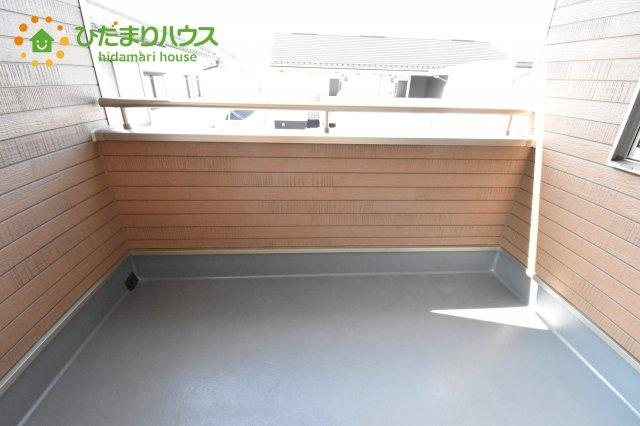 【バルコニー】上尾市浅間台 第3 クレイドルガーデン 02