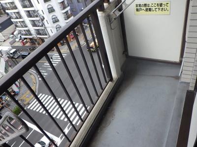 【バルコニー】クリオ川崎東弐番館