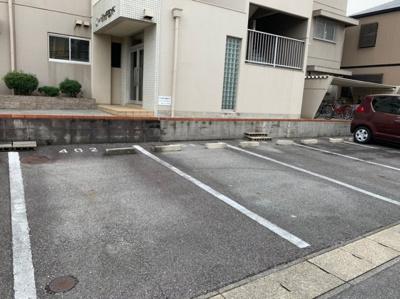 【駐車場】ハイツリッチモンドA棟