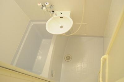【浴室】レオパレス ソレーユ