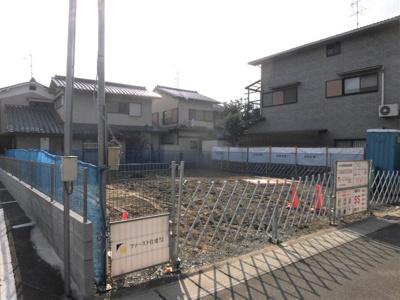 現状:建築中(2020年11月8日撮影)