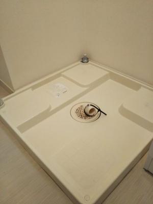 リブリ・エルミタージュの洗濯機置き場