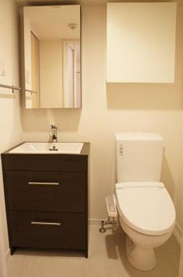 リブリ・エルミタージュの洗面所