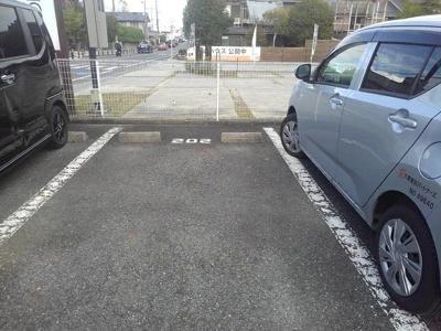 【駐車場】プチモンド堅田