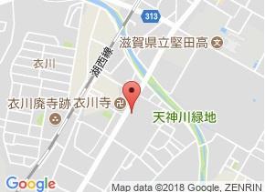 【地図】プチモンド堅田