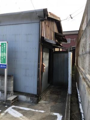 【外観】箕島平屋