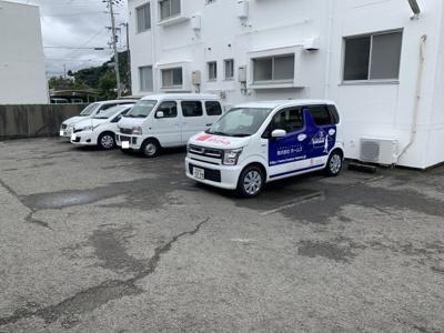 【駐車場】田伏アパート